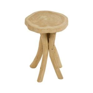 Stolička z teakového dřeva Santiago Pons Nisa