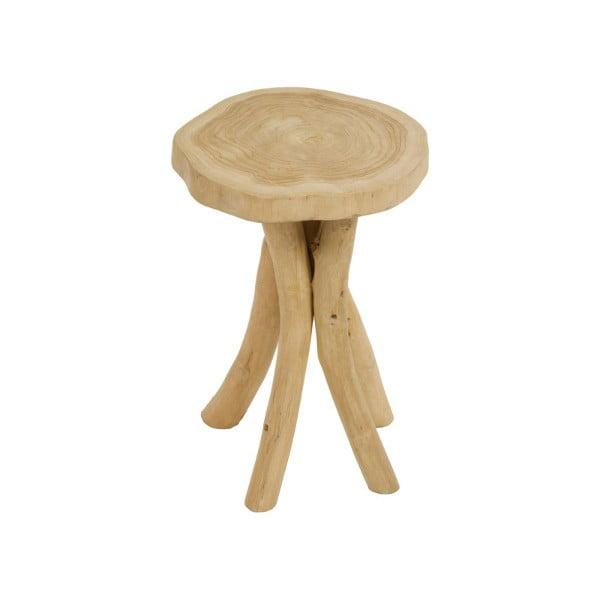 Scaun taburet din lemn de tec Santiago Pons Nisa
