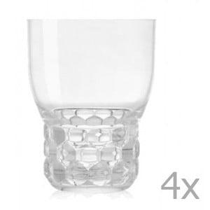 Sada 4 sklenic Kartell Jellies, 400ml