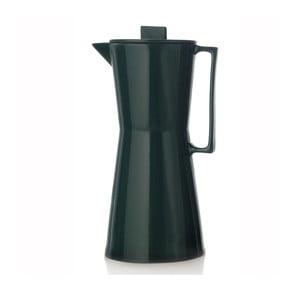 Porcelánová váza ve tvaru moka konvičky Terra Green