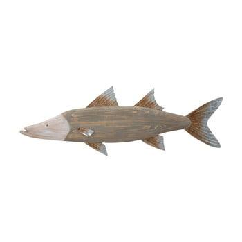 Decorațiune de perete Mauro Ferretti Fish, 99 x 33,5 cm imagine