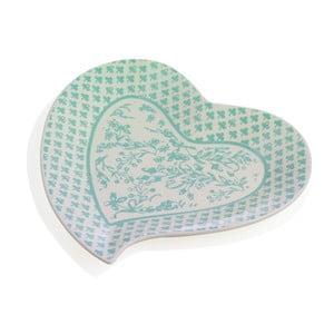 Porcelánový tác ve tvaru srdce Brandani Alice