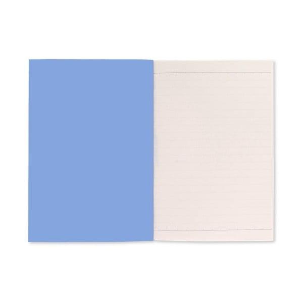 Modrý zápisník A5 GO Stationery Cornflower