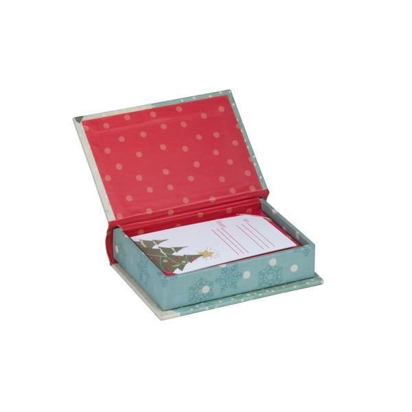 Dárková krabička s jmenovkou Tri-Coastal Design It's Christmas