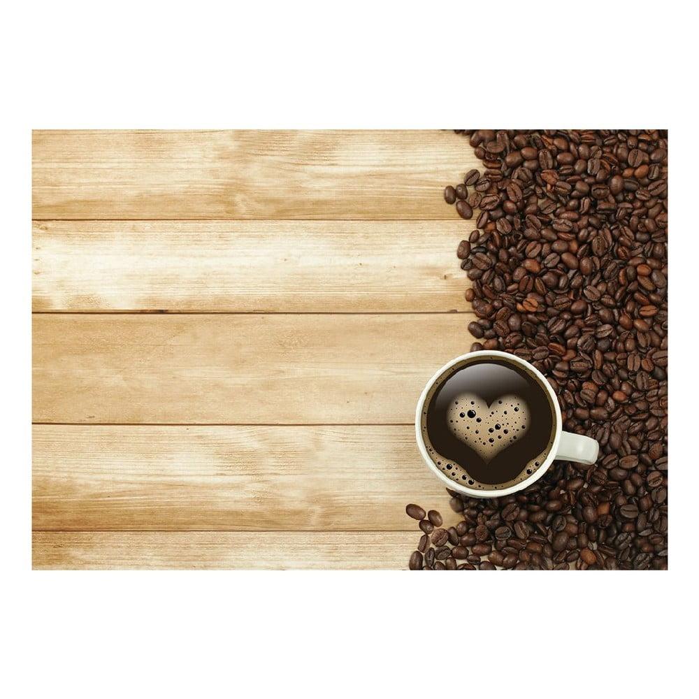 Vinylový koberec Coffee, 52 x 75 cm