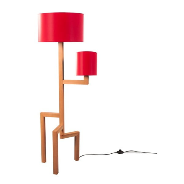 Stojací lampa Tip Red