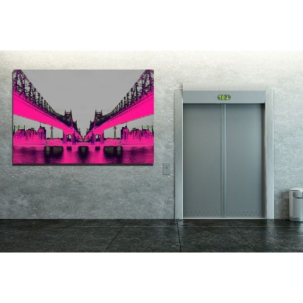 Obraz Night Vision Pink, 61 x 91 cm