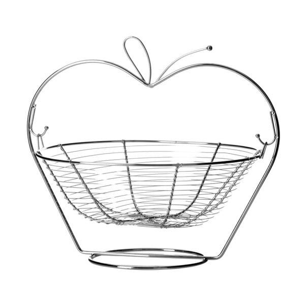 Orchard Apple fém gyümölcskosár - Unimasa
