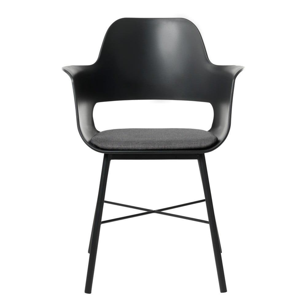 Černá jídelní židle Unique Furniture Wrestler
