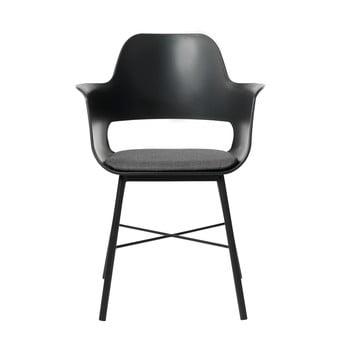 Scaun Unique Furniture Wrestler, negru-gri