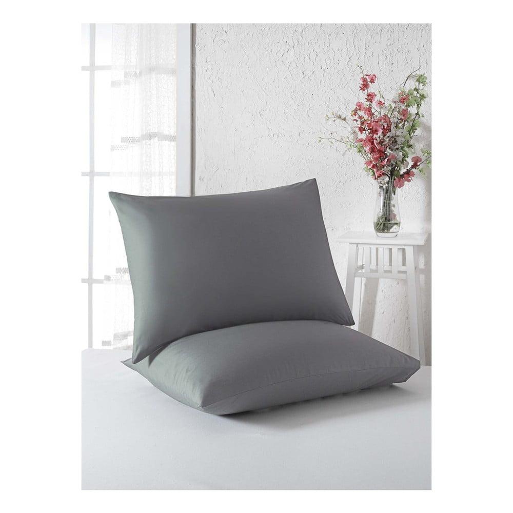Sada 2 povlaků na polštáře z bavlny, 50 x 70 cm