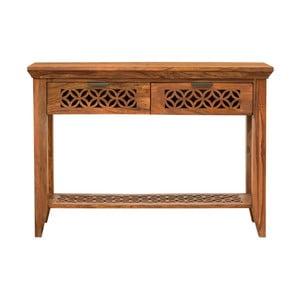 Konzolový stolek z masivního palisandrového dřeva Massive Home Rosie