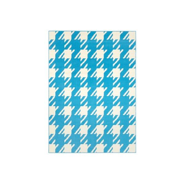Modrý koberec Designela, 160x225 cm
