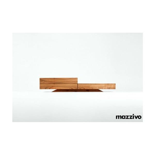 Komoda Mazzivo z olšového dřeva, model 3.2, bezbarvý vosk