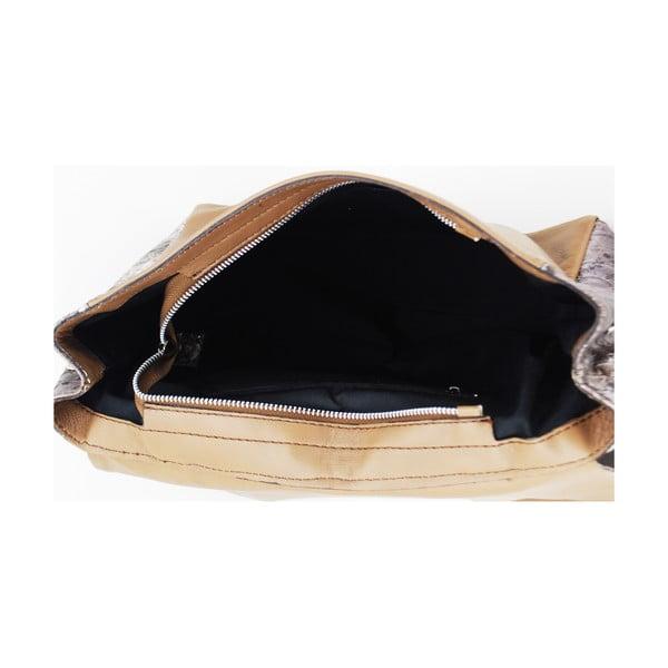 Kožená kabelka Vitello Taupe