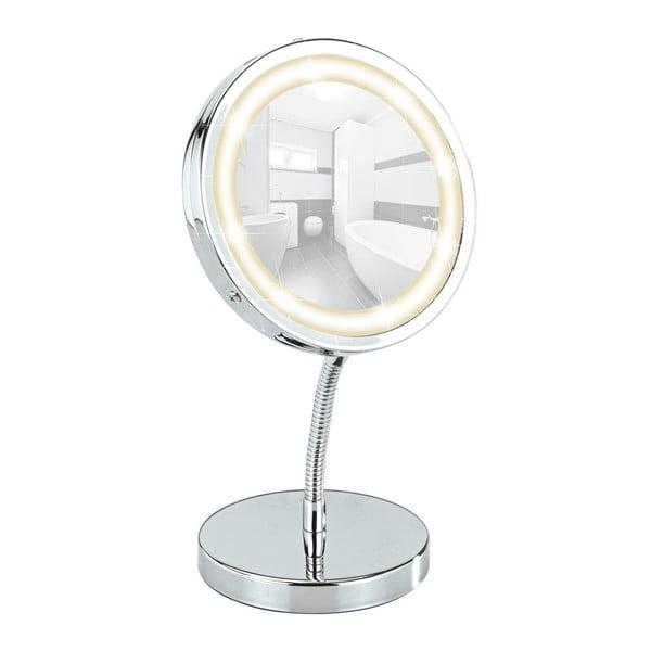 Kosmetické zrcadlo s LED světlem Wenko Brolo