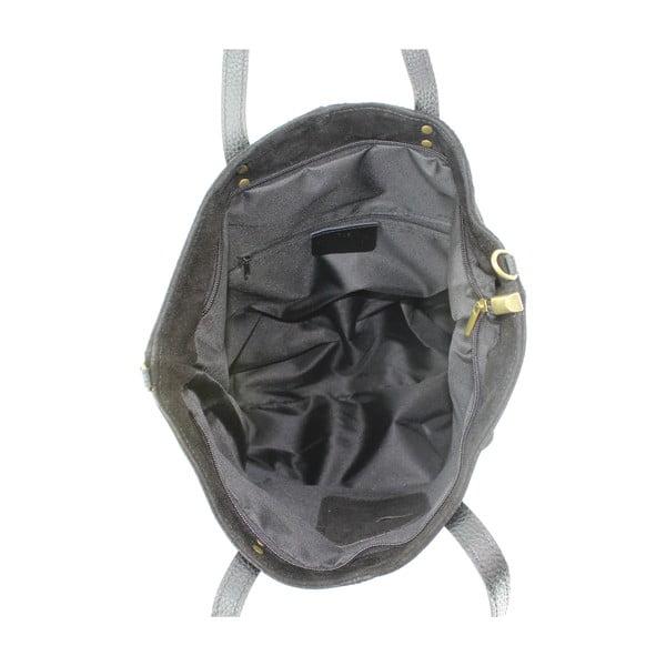 Kožená kabelka Frenze, černá