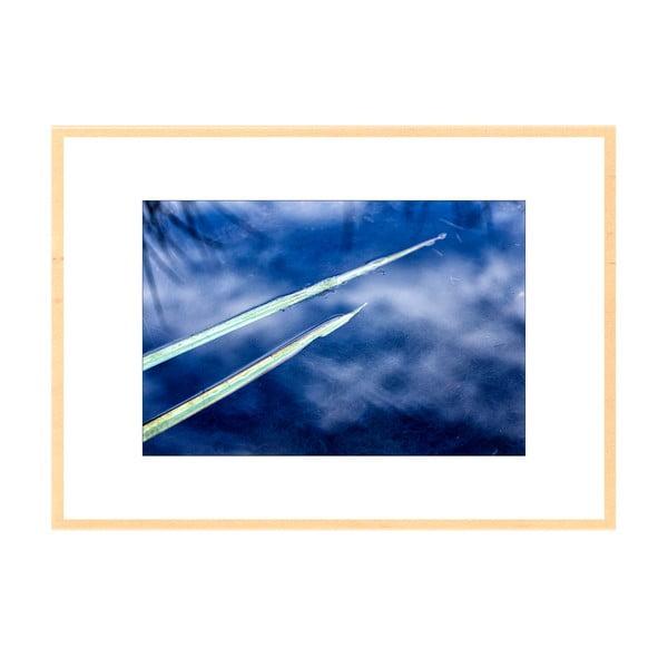 Po nebi, autorská fotografie Borise Stojanova (přírodní olšový rám)