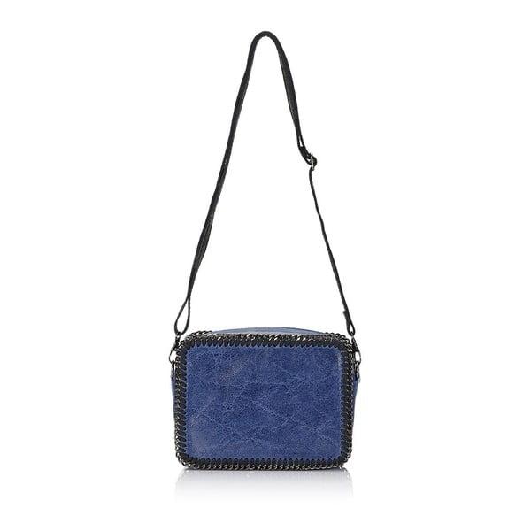 Kožená kabelka Markese 113 Blue