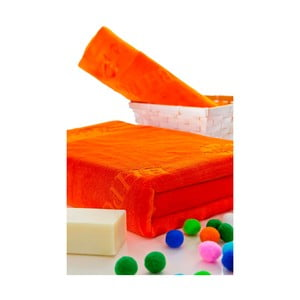 Sada osušek 50x100 a 150x80 cm, oranžová