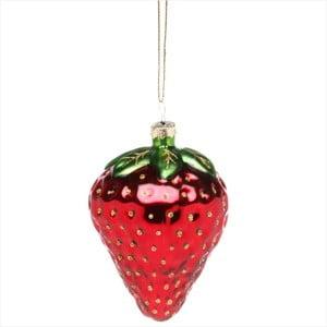 Vánoční závěsná ozdoba Butlers Hang On Strawberry