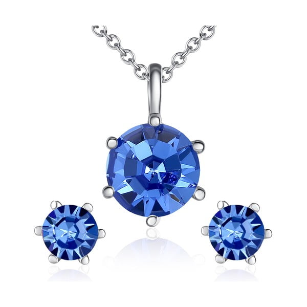 Sada náhrdelníku a náušnic s krystaly Swarovski Lilly & Chloe Aline
