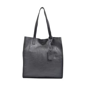 Černá kožená kabelka Isabella Rhea Leslie