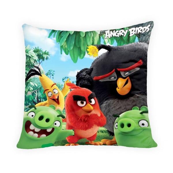 Față de pernă pentru copii Halantex Angry Birds Movie, 40 x 40 cm