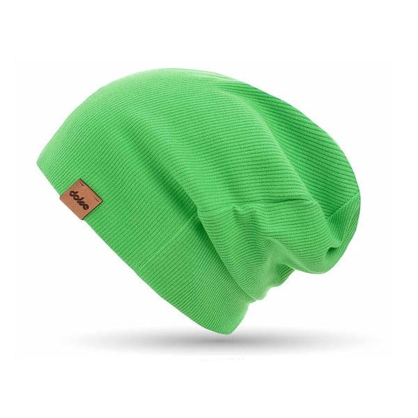 Zelená úpletová čiapka DOKE