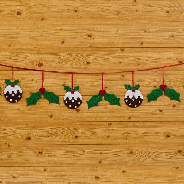 Girlanda Neviti Christmas Pudding