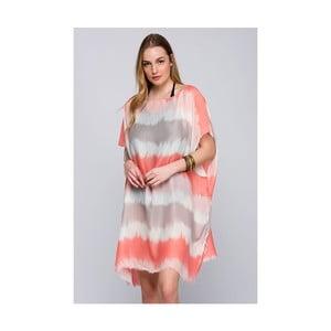 Růžová dámská letní tunika NW Ghost