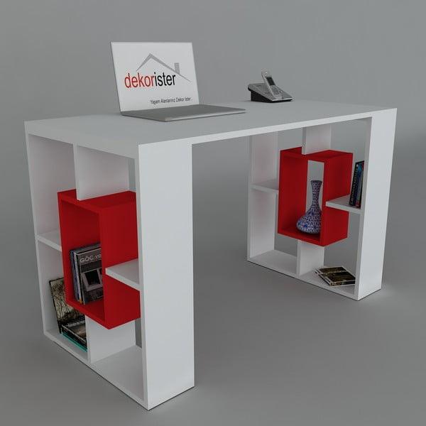 Pracovní stůl Valencia Red, 60x120x73,8 cm