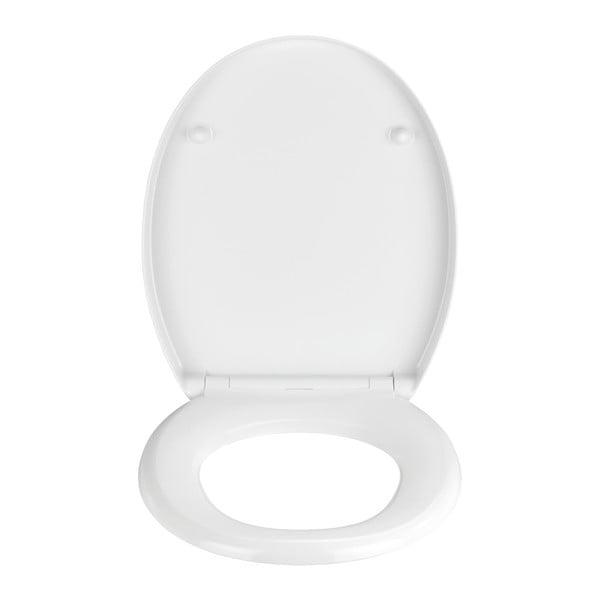 Capac WC din duroplast Wenko Tilos, alb