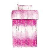 Povlečení Koivikko Pink, 135x200 cm + 80x80 cm