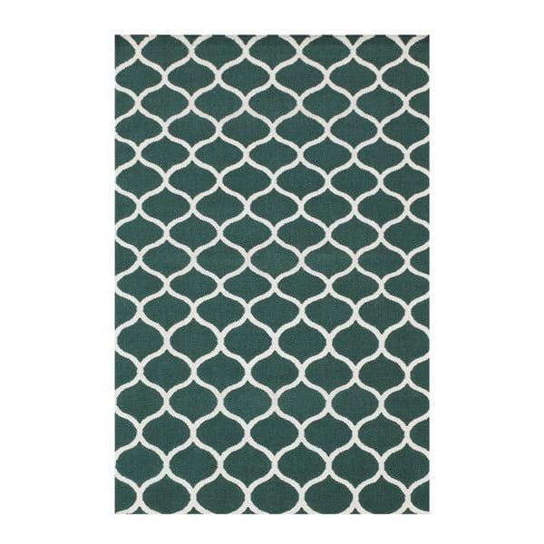 Ručně tkaný koberec Alize Green, 155x240 cm