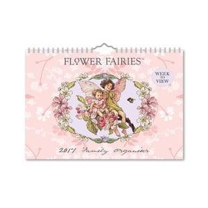 Organizator pentru familie A4 Portico Designs Flower Fairies