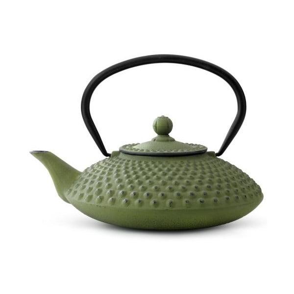 Ceainic din fontă cu infuzor Bredemeijer Xilin, 1,25 l, verde