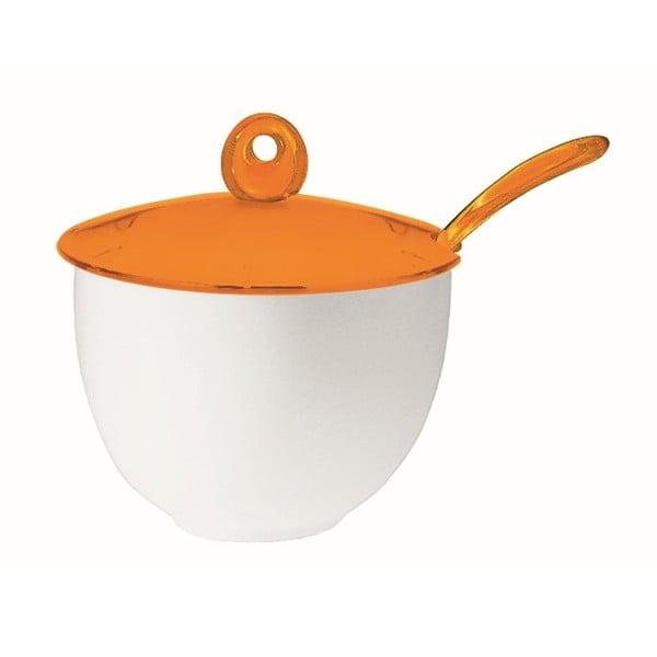 Oranžová cukřenka Fratelli Guzzini Art
