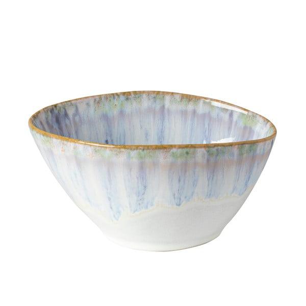 Bielo-modrá kameninová miska Costa Nova Brisa, ⌀ 16 cm