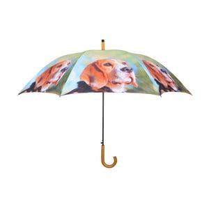 Světle zelený deštník s pejsky Esschert Design