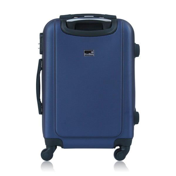 Sada 3 modrých kufrů na kolečkách BlueStarBucarest