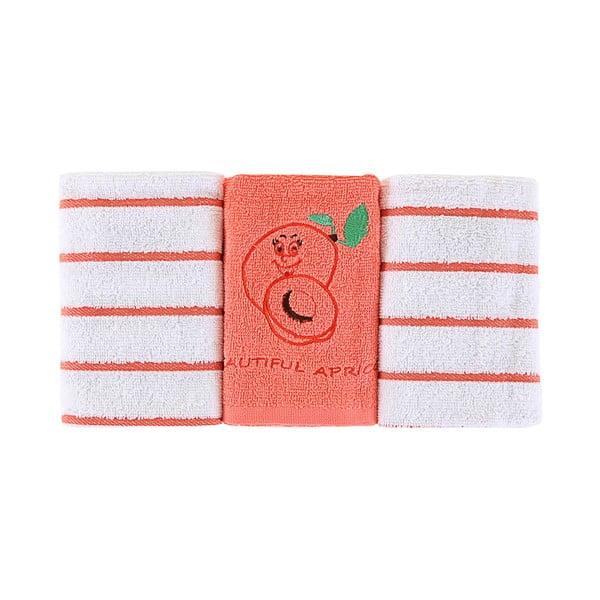 Sada 3 ručníků Apricot