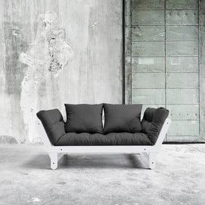 Canapea extensibilă Beat White/Dark