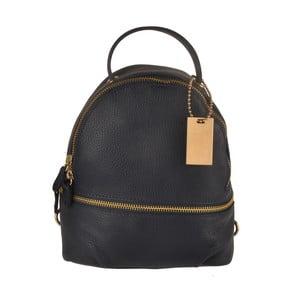 Tmavě modrý kožený batoh Matilde Costa Gent