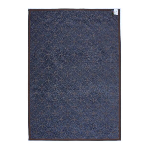 Koberec NW Brown/Blue, 80x250 cm