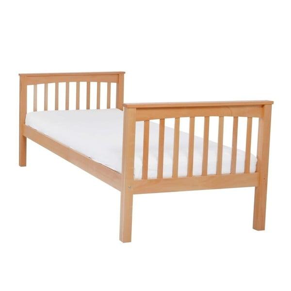 Dětská jednolůžková postel z masivního bukového dřeva Mobi furniture Lea, 200x90cm