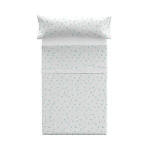 Set povlaku na polštář a prostěradla Pooch Confetti Azul, 125x45cm