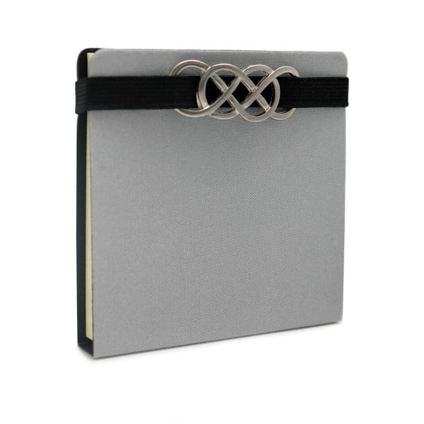 Sticky notes Makenotes Classic Silver, 100 file