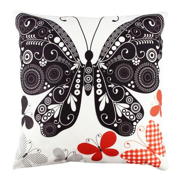 Polštář Butterfly, 43x43cm