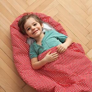 Sac de dormit pentru copii Bartex Inimioară, 70 x 180 cm